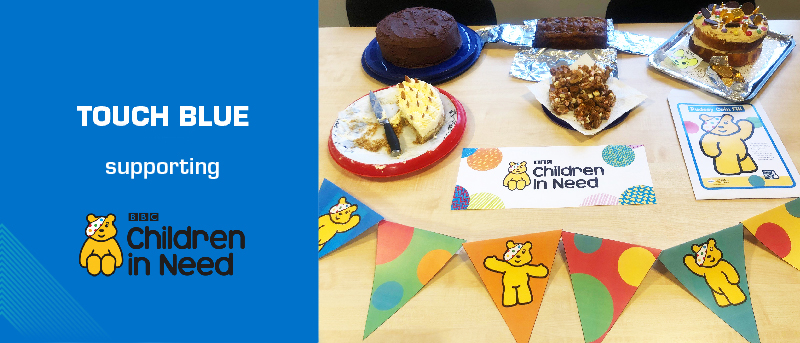 Touch Blue supports BBC Children in Need