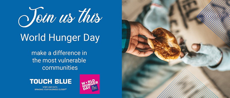 Next Friday is the World Hunger Day